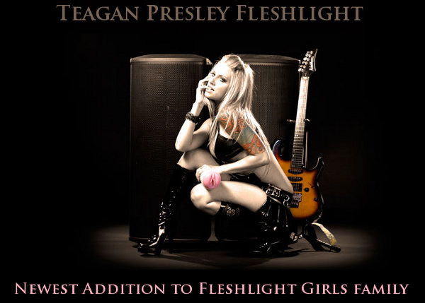 Teagan Presley fleshlight girls